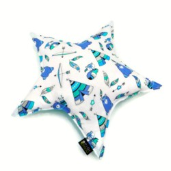 STAR PILLOW - INDIAN MOTIFS