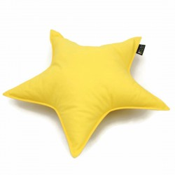 STAR PILLOW - YELLOW
