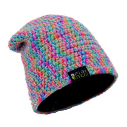BEANIE - GREY MULTICOLOR HAT