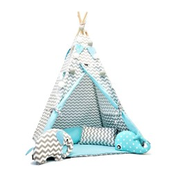 TEEPEE TENT - CHEVRON AND...