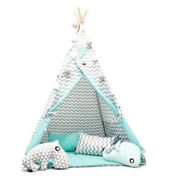 TEEPEE TENT - CHEVRON WITH...