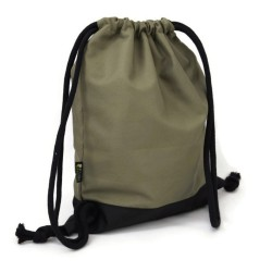 BACKPACK BAG - KHAKI & BLACK