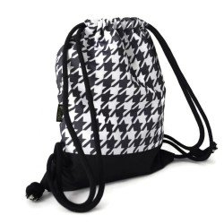 BACKPACK BAG - HOUNDSTOOTH