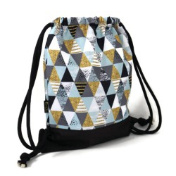 BACKPACK BAG - TRIANGLES