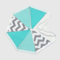 COTTON GIRLANDA - MINT AND...